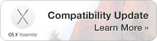 Yosemite Compatibility