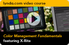 Lynda Video Course - Color Management Fundamentals